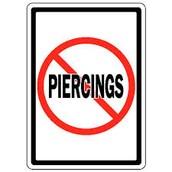 No piercings