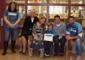 Luca G. & family