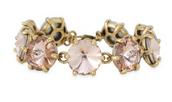 Amelie Sparkle Bracelet Peach