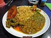 rice and chana