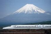 Bullet Train to Mt Fuji