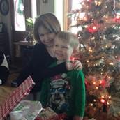 Brianna (5) and Mason (2 1/2)