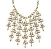 Dahlia bib necklace - Current season   SOLD