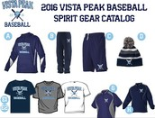 VP Baseball Team Gear for 2016-Order NOW!