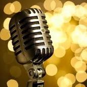 Singing.