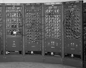 One of the first analog computers.