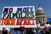 """NO MORE FAMILIES TORN APART"""