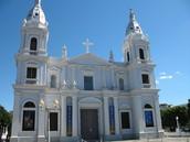 Un catedral en Puerto Rico.
