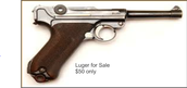 Luger for Sale!