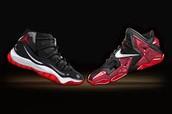 Lebrons and Jordan's