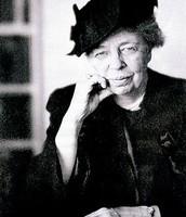 1st Lady Eleanor Roosevelt