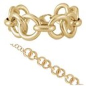 Jackie link bracelet $25
