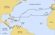 Christopher Columbus Exploration Route
