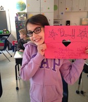 A card for Ms. Polina!