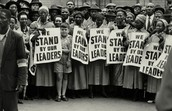 ANCWL support of anti-apartheid leaders