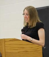 Mary Hinchie, Junior Speaker