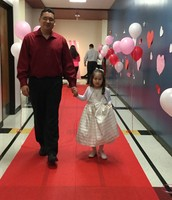 A walk down the red carpet!