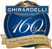 Ghiradelli Chocolate San Diego/Monterey