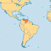 Where is Venazuela located?