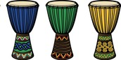 A Real African Drum