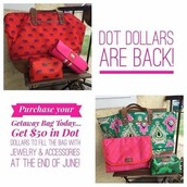 Dot Dollar's are Back~ for every $50.00 you spend you earn $25.00 to redeem by 6/25!