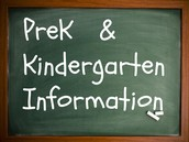 PreK & Kindergarten Enrollment