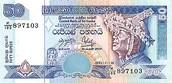 50 Sri Lankan Rupee