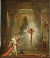 The Apparitions by Gustave Moreau