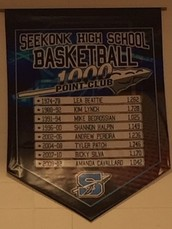 """Seekonk Boosters Donate """"1,000 Point Banner""""!"""