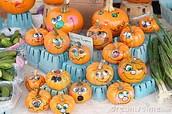 Paint Your Own Pumpkins