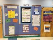 Our Math Wall