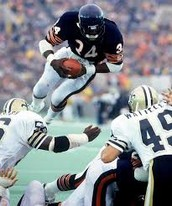 Walter Payton is one of the greatest running backs of all time.