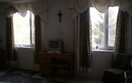 Main bedroom overlooking the forest