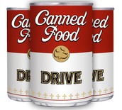 SPARC Canned Food Drive Jan. 19th-29th: