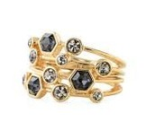 Stackable Gem ring $13  (75% off)