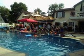 Annual Pool Party at Neil & Regina Minnucci's