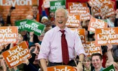 What three traits did Jack Layton use from Nelson Mandela's 8 Lessons of Leadership