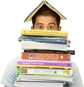 Drowning in textbooks?