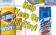 Help Keep Us Healthy