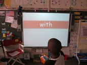 High frequency words in first grade upon arrival