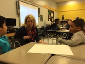 Ms. Swaringen helps her kids understand sequence in text structure