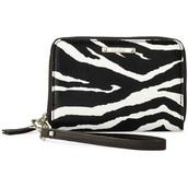 CHELSEA TECH WALLET - ZEBRA
