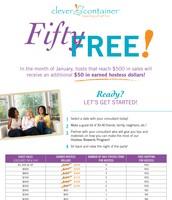 January Host Bonus