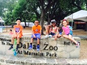 The Dallas Zoo is a fun place to go.