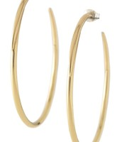 Signature Gold Hoops $32.00 - Sale $16.00