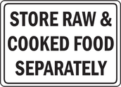 How to store raw and cooked food