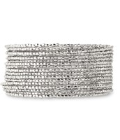 Bardot spiral silver - $20