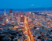 We are at San Francisco!