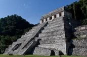 pyramid in palenque mexico