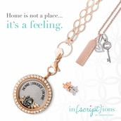 Pair a locket with our CORE Collection